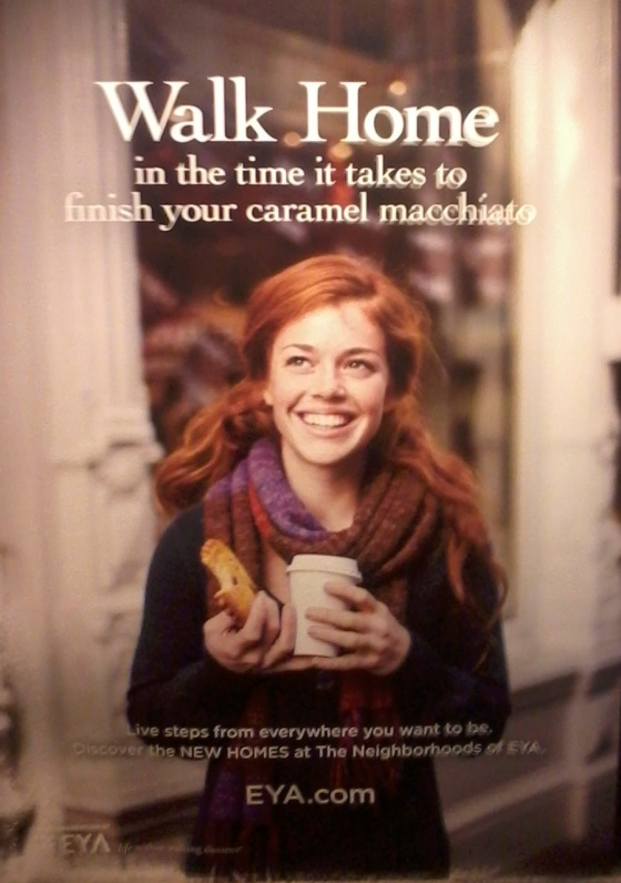 EYA coffee advertisement